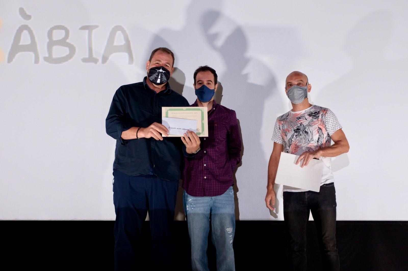 Entrega de Premios Cine Jayan IV rally fotografico